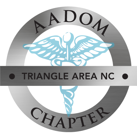 The Triangle Area AADOM Chapter Official Logo