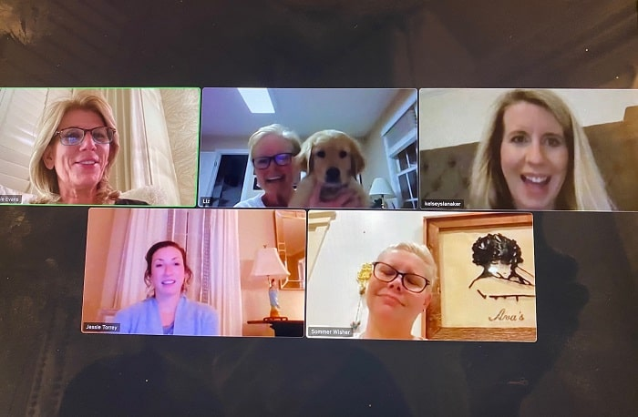 2021 Chapter Board Meeting over Zoom
